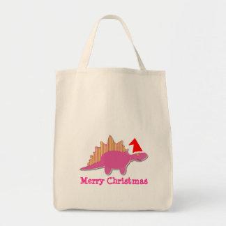 För Dinosaurpåse för god jul rosa toto