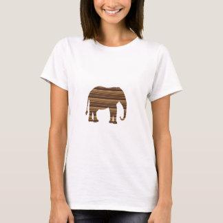 För djurt brunt NVN286 för rand vildhusdjur för Tee Shirts