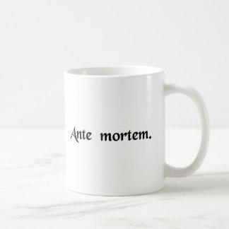 För död kaffemugg