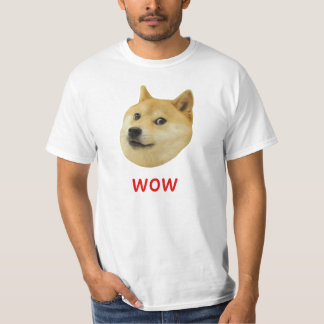 För Doge wow mycket mycket hund sådan Shiba Shibe T-shirts