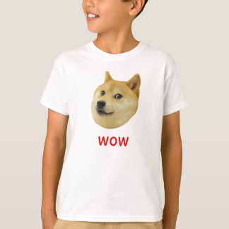 För Doge wow mycket mycket hund sådan Shiba Shibe Tshirts