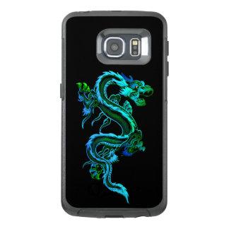 För drakeOtterbox Samsung S6 för blått kinesiskt