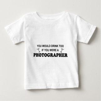 För drink fotograf för - tee shirt