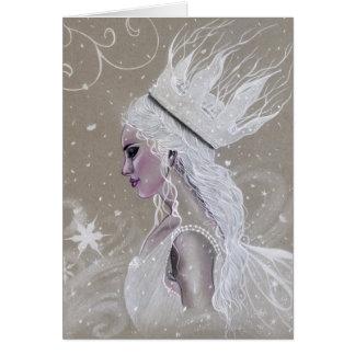 För drottninghälsning för vinter felikt kort