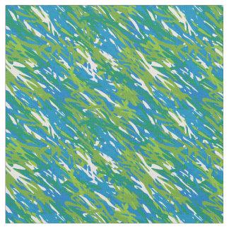 För Eco för blått grönt tyg kamouflage