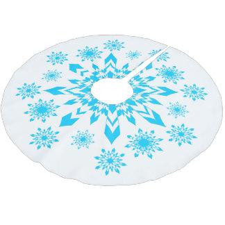 För elegant för julSnowflake lite kjol för träd Julgransmatta Borstad Polyester