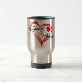 För evigt & alltid rostfritt ståltravel mug resemugg