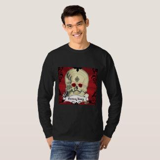 För evigt din Skalle Diameter de los Muertos Tee Shirt