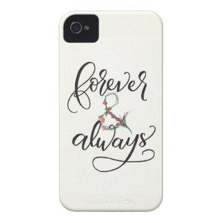 För evigt och alltid fodral för iPhone 4 iPhone 4 Case-Mate Fodraler