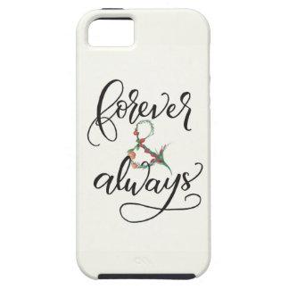 För evigt och alltid iPhone 5 Case-Mate fodraler