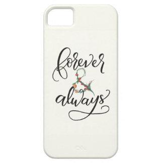 För evigt och alltid iPhone 5 skydd