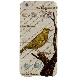 För fågelägg för vår gult träd för blommar barely there iPhone 6 plus skal