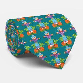 För fågelskrämmamönster för nedgång slips