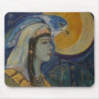 För Falcoln för fantasi egyptisk gudinna Mousepad  Musmatta