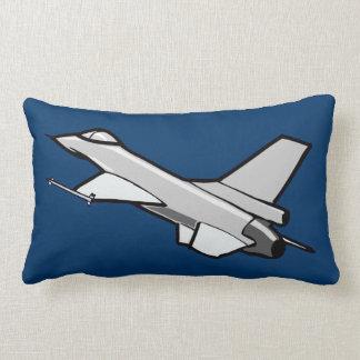 För falkkämpe för stridighet F16 jet i flyg Lumbarkudde