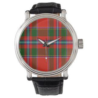 För familjTartan för barn skotsk klocka
