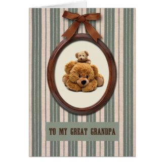 För farfar på fars dagkort hälsningskort