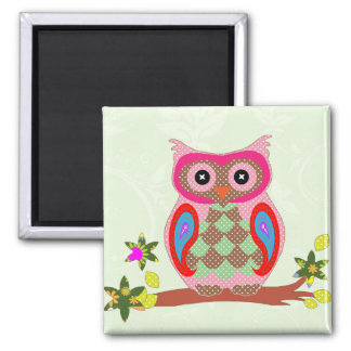 För färgrik dekorativ magnet patchworkkonst för ug