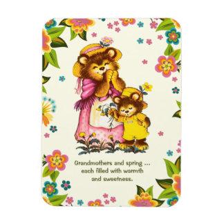 För farmor på mors daggåvamagneter ninyl magneter