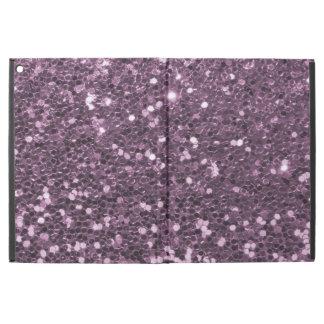 """För Fauxglitter för Glam lavendel purpurfärgat iPad Pro 12.9"""" Skal"""