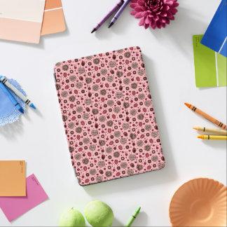 För festmönster för rosa valentin sött fodral för iPad air skydd