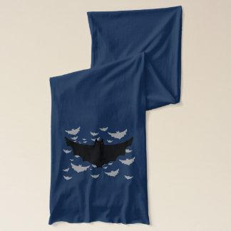 För fladdermössförråd för flyg ond Halloween Scarf Sjal