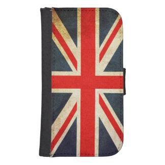 För flaggagalax S4 för facklig jack brittiskt Galaxy S4 Plånboksfodral