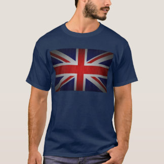 För flaggaplus för facklig jack brittisk skjorta t-shirt