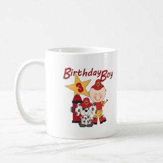 För födelsedagbrandman för pojkar 3rd födelsedag muggar