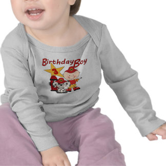 För födelsedagbrandman för pojkar 3rd födelsedag tee