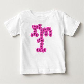 För födelsedagrosor för flicka 1st blommor t-shirts