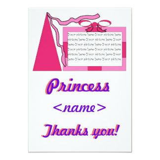 För födelsedagsfesttack för Princess Av Någon 12,7 X 17,8 Cm Inbjudningskort