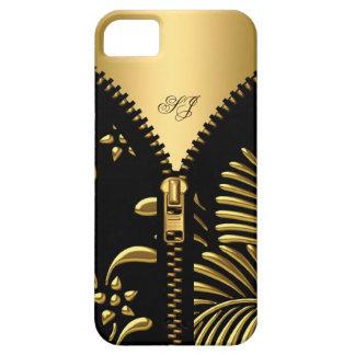 för Fodral-Kompis för iPhone 5 Zipper för svart iPhone 5 Fodral