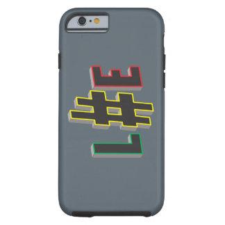 för Fodral-Kompis för rasta för pölsamärkreliv Tough iPhone 6 Skal