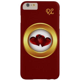 för fodralkärlek för iphone 6 rött körsbär för barely there iPhone 6 plus skal