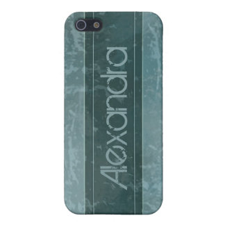 för fodralkricka för iPhone 4 bedrövad marmor för  iPhone 5 Fodraler