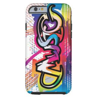 för fodralmusik för iPhone 6 fodral för grafitti Tough iPhone 6 Case