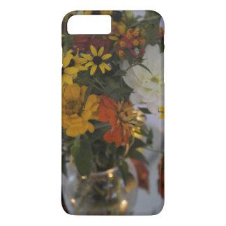 för fodralnedgång för iPhone 7 fodral för blommor