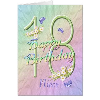 För för födelsedagfjärilar och blommor för hälsningskort