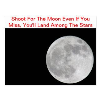 For för månen vykort