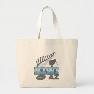 För för rugbyfågel och silver för KIWI AZ nyazeelä Jumbo Tygkasse