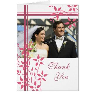 För fotobröllop för rosor & för vit blom- kort för