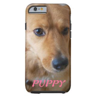 För fotoiPhone 6 för valp älsklings- fodral Tough iPhone 6 Fodral