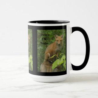 För fotokaffe för Cherokee räv härlig mugg
