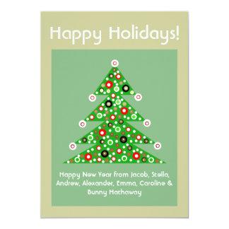 För fotokort för 2013 ny beställnings- jul gåva 12,7 x 17,8 cm inbjudningskort