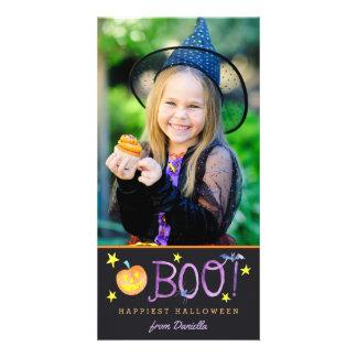 För fotokort | för BU | Halloween mörk Fotokort
