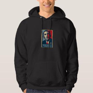 ` för framsteg för Obama Hoodie`, Tröja Med Luva