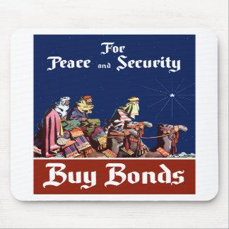 För fred- och säkerhetsköpförbindelser musmatta