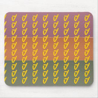 För fullföljandefärg för tre metall rand - musmatta