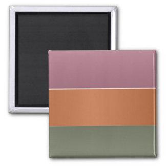 För fullföljandefärg för tre metall randen - magnet